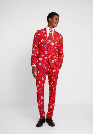 DAPPER DECORATOR - Kostym - red