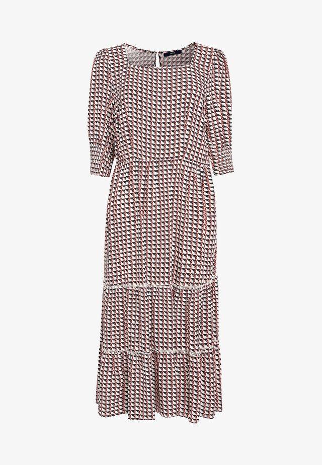 TIERED - Denní šaty - red