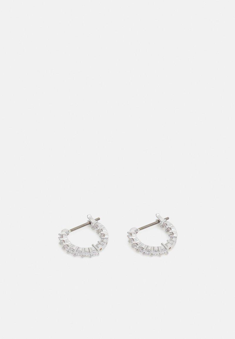 Swarovski - VITTORE MINI HOOP - Earrings - silver-coloured
