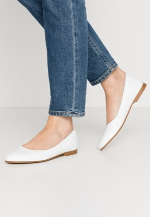 MOALA BASIC - Ballet pumps - white