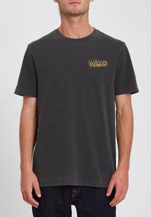 BURGOO S/S  - T-shirt print - black