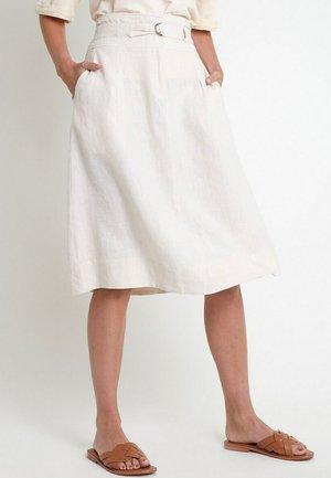 A-line skirt - ecru
