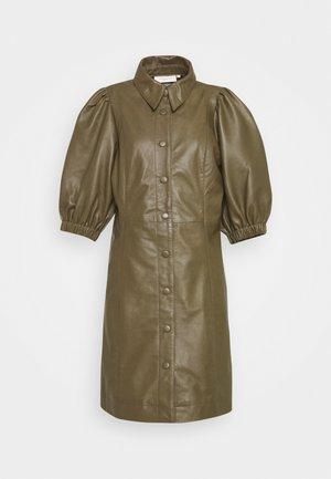 ROYAL - Shirt dress - dark olive