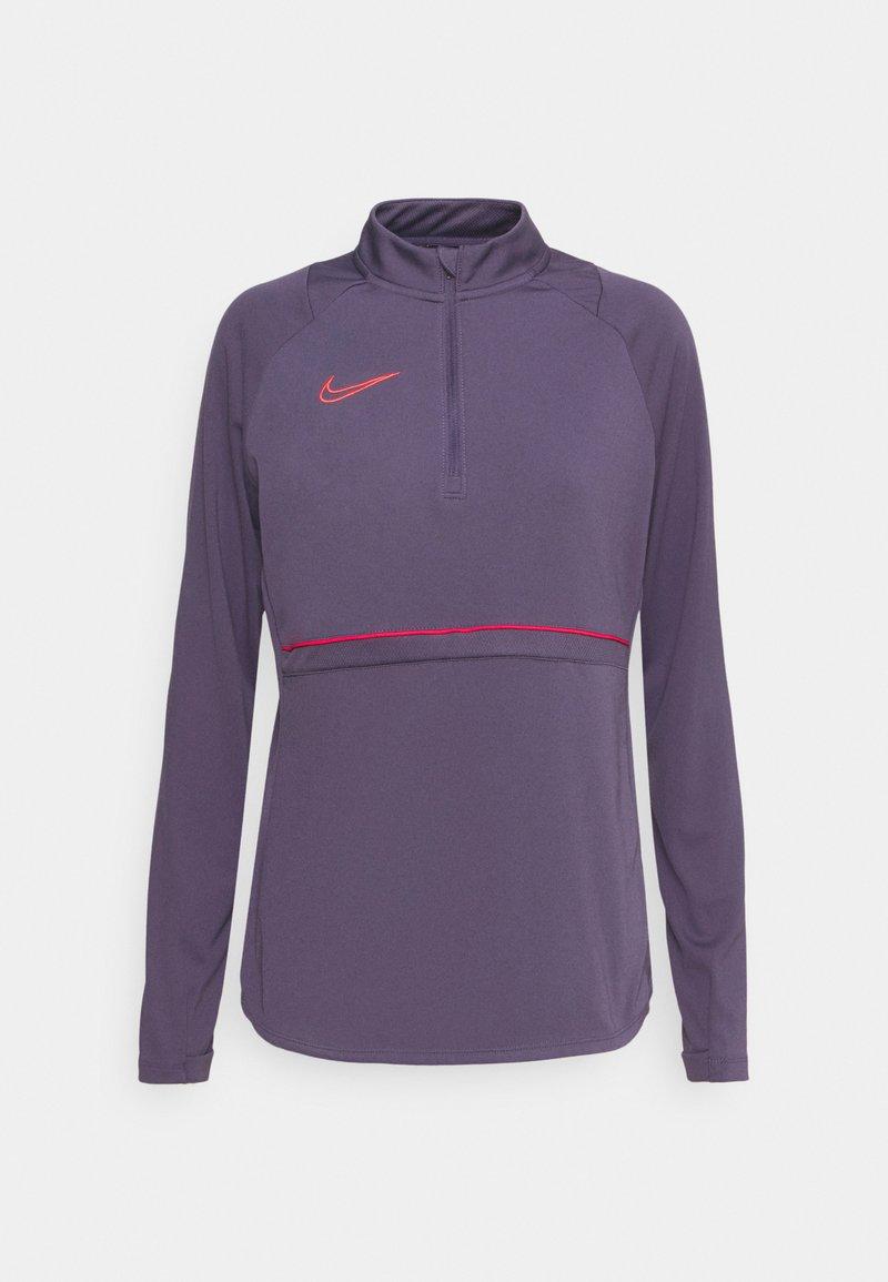 Nike Performance - DRY ACADEMY  - Sweatshirt - dark raisin/siren red