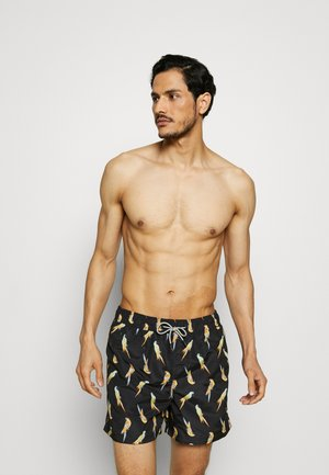 ARUBA SWIM 2 PACK - Swimming shorts - alaskan blue/black