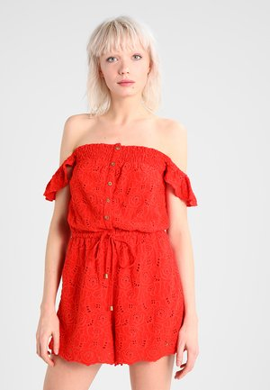 LILAH SCHIFFLI PLAYSUIT - Jumpsuit - ahoy red