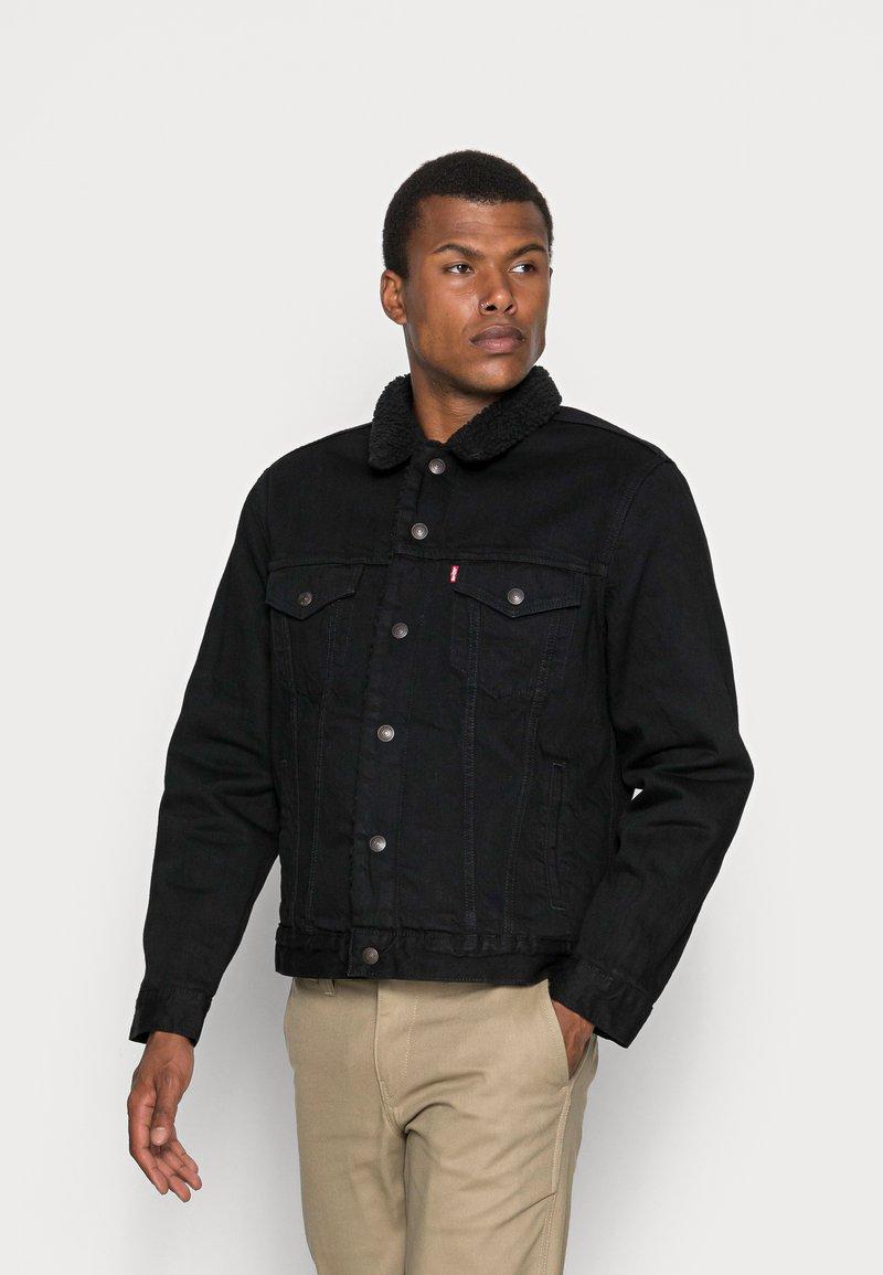 Levi's® - TYPE 3 SHERPA TRUCKER - Light jacket - back denim