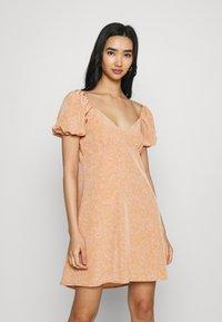 Fashion Union - COMBARRO DRESS - Day dress - brown - 0