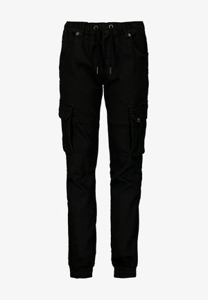 Cargo trousers - off black
