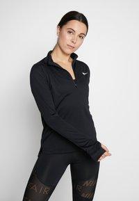 Nike Performance - PACER  - Camiseta de deporte - black/reflective silver - 0