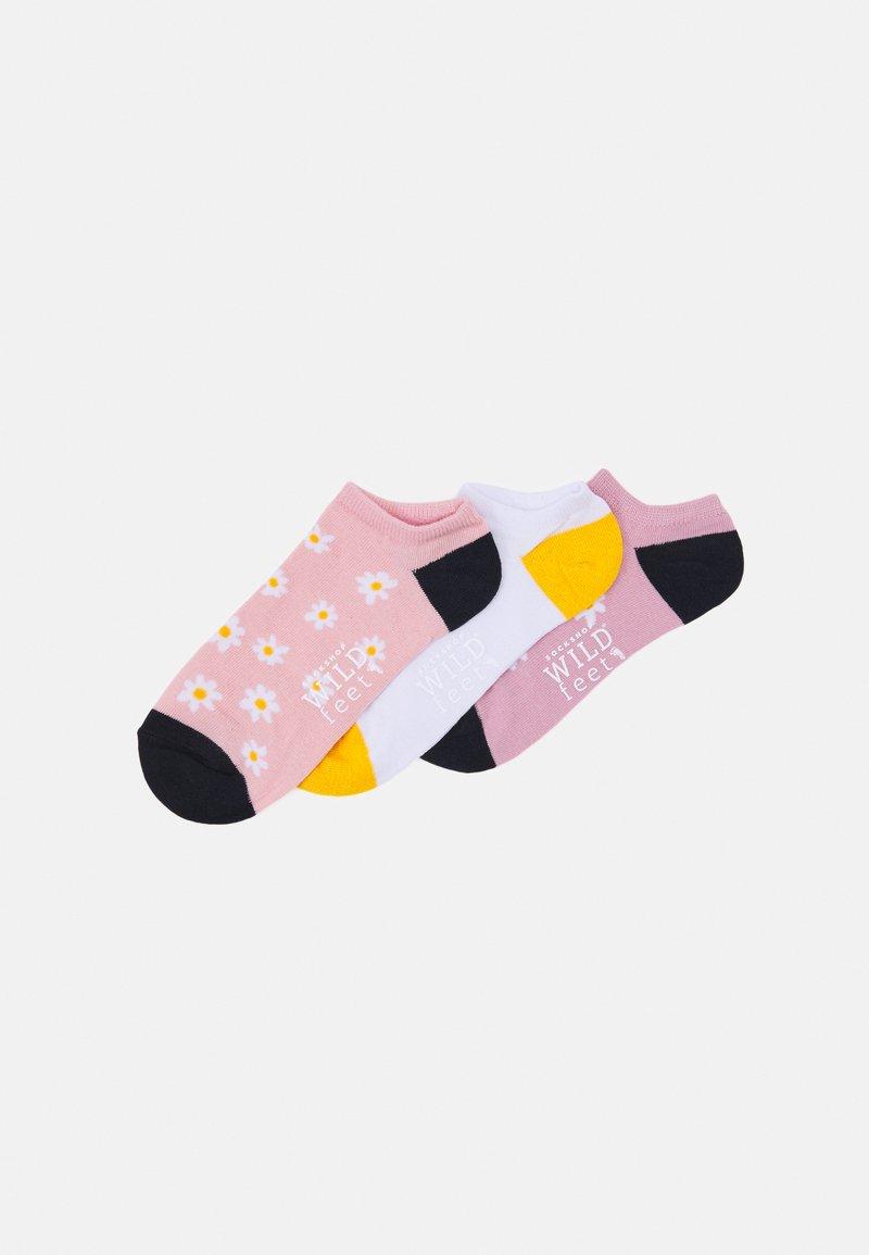 Wild Feet - DAISY TRAINER SOCKS 3 PACK - Socks - assorted