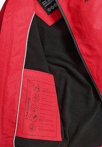Next - FULLY - Waterproof jacket - red - 5
