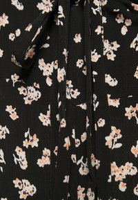 Topshop Petite - TIE FRONT FLORAL - Overall / Jumpsuit - black - 2