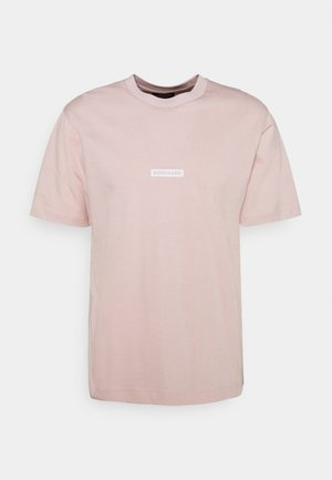 BOX LOGO TWIN - T-shirts med print - violet ice