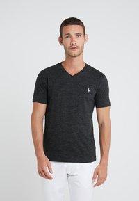 Polo Ralph Lauren - T-shirt - bas - black marl heather - 0
