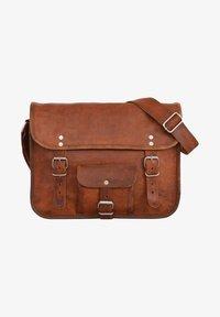 Gusti Leder - ALEX  - Across body bag - brown - 2