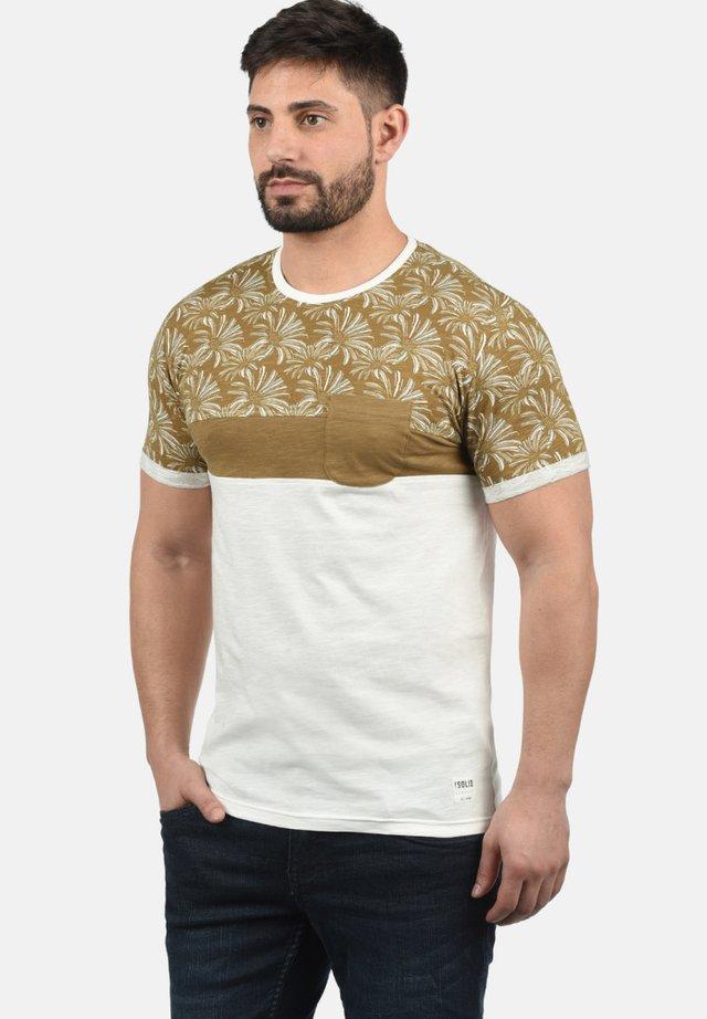 FLORIAN - Print T-shirt - ermine