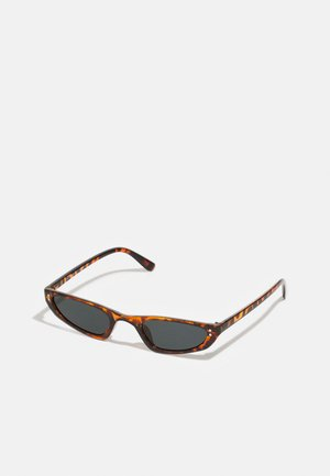 CAT EYE UNISEX - Sunglasses - dark brown
