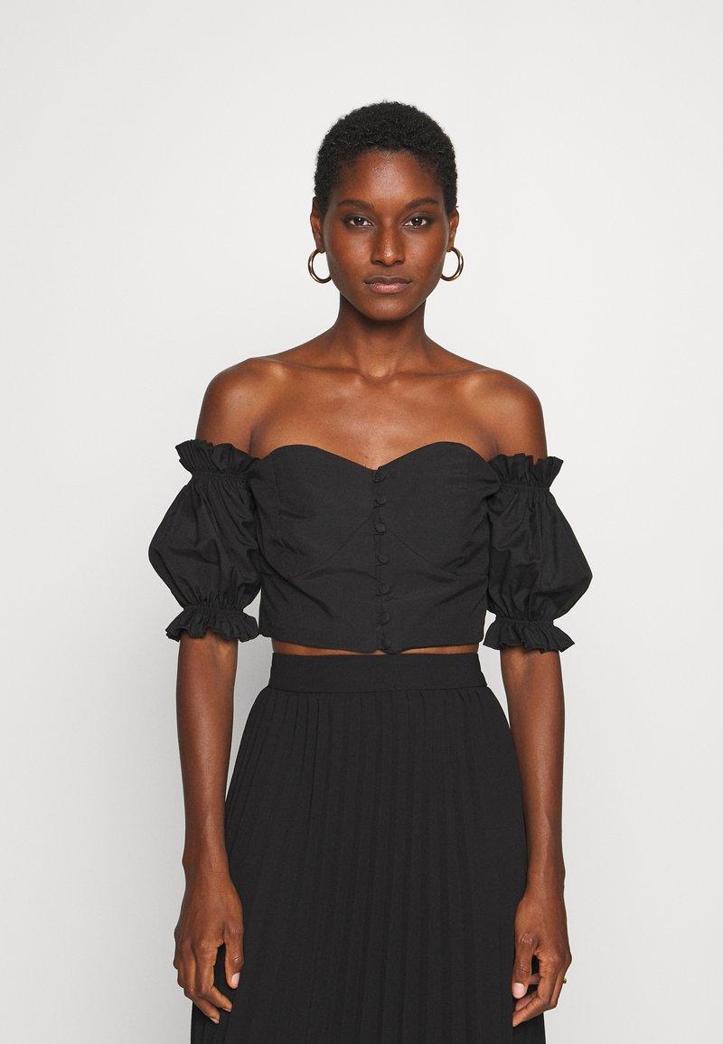 Trendyol - Bluzka - black