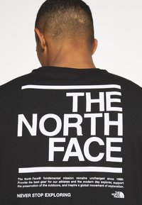 The North Face - MESSAGE TEE - T-Shirt print - black - 5