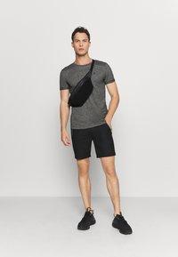 TOM TAILOR DENIM - T-shirt - bas - black - 1