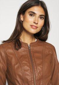 Soyaconcept - SC-AMALIE 4 - Faux leather jacket - brown - 3
