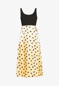 LUTILLEGZ SKIRT - A-line skirt - yellow black dot