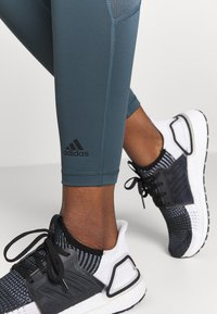 adidas Performance - Leggings - dark blue/black