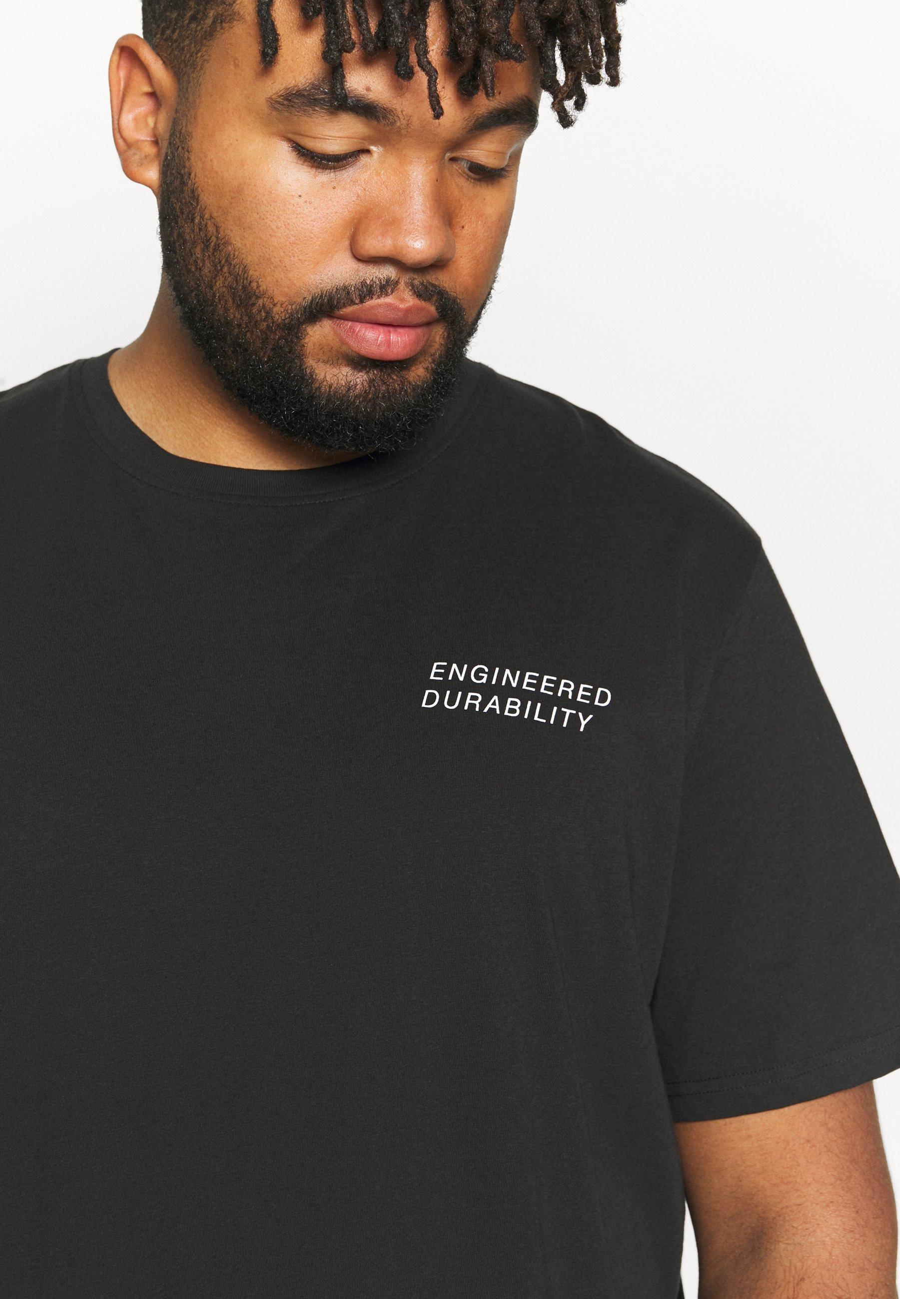 Men JCORACK TEE CREW NECK  - Print T-shirt