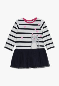 Staccato - BABY - Jersey dress - offwhite melange - 0