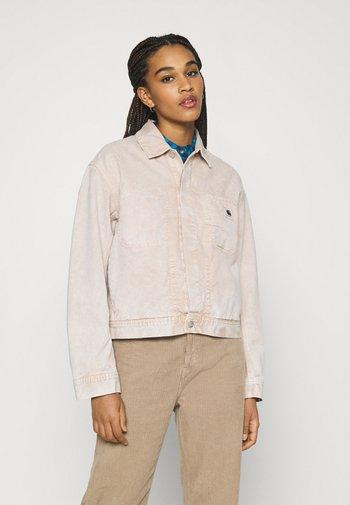 SONORA JACKET - Denim jacket - dusty brown