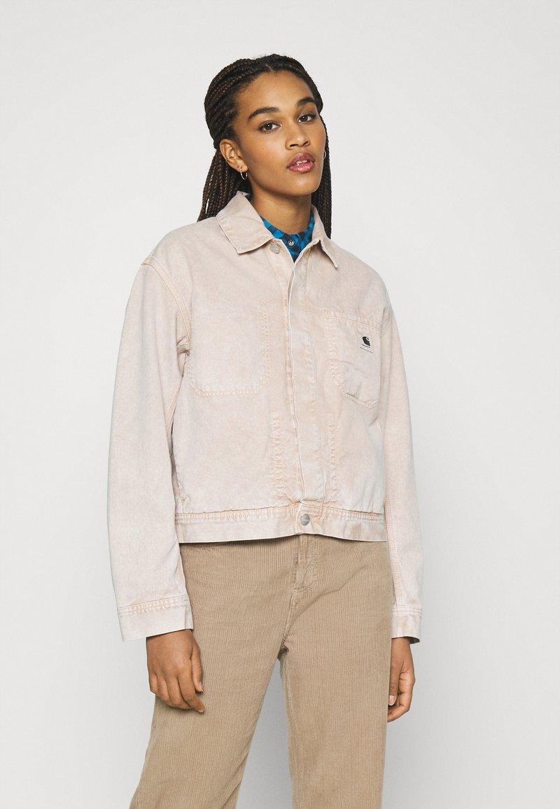 Carhartt WIP - SONORA JACKET - Denim jacket - dusty brown