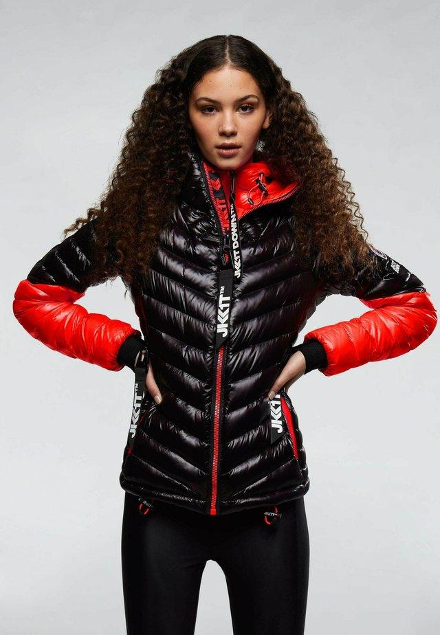 Rising  - Gewatteerde jas - red