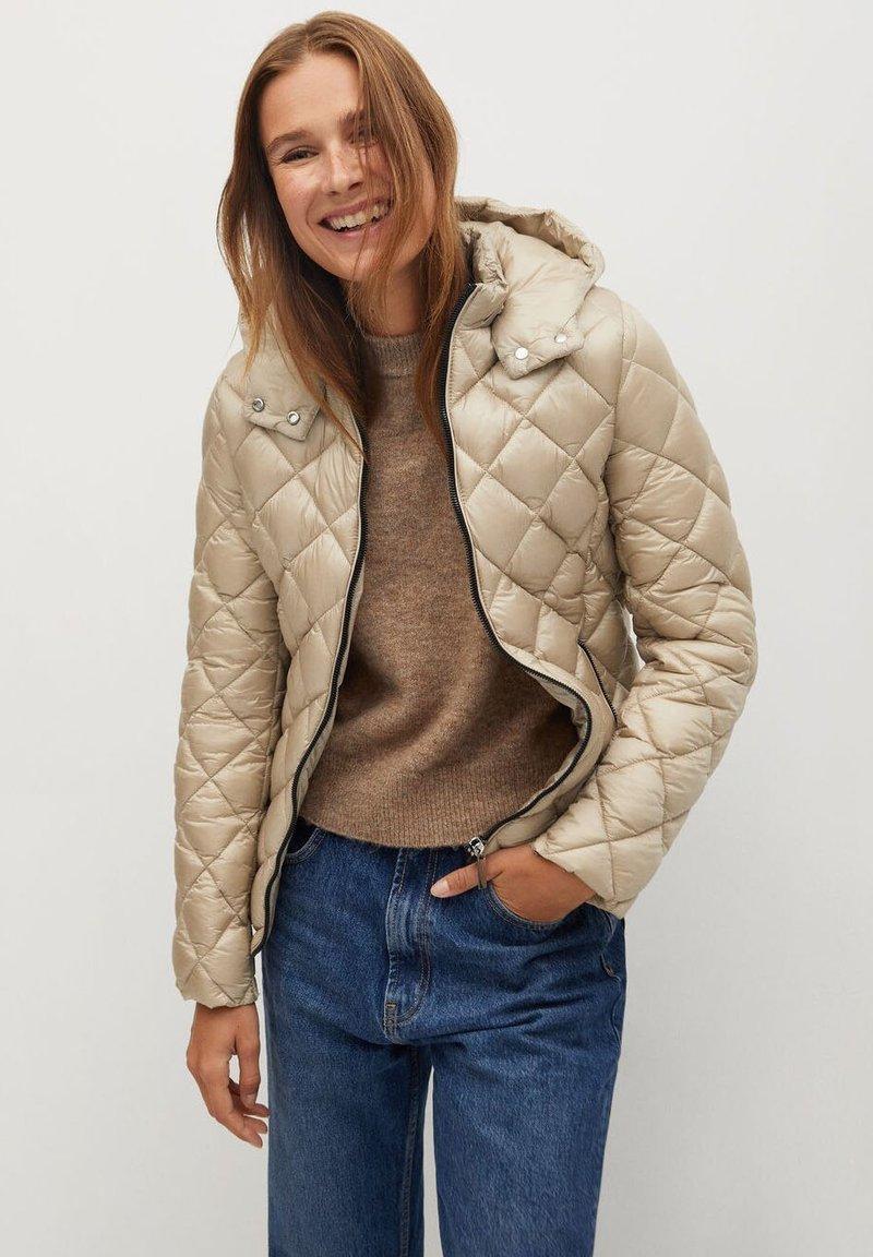 Mango - BLANDIN - Winter jacket - ecru