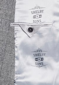 Shelby & Sons - KIRKHAM SUIT DOUBLE BREASTED  - Suit - grey - 7