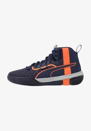 LEGACY MADNESS - Basketball shoes - dark blue/orange