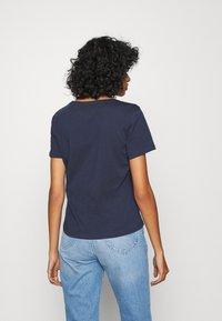 Tommy Jeans - SLIM VNECK - T-shirt basic - blue - 2