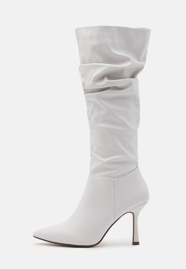 LIVVI - High heeled boots - white