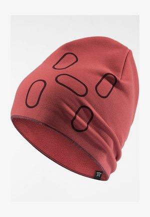 FANATIC PRINT CAP - Beanie - brick red/maroon red