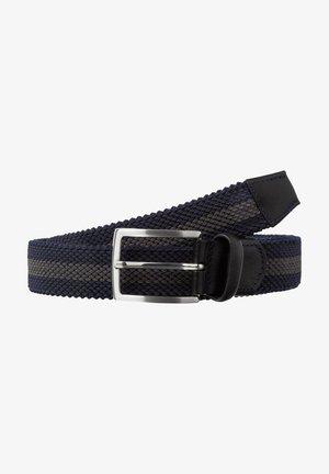 CEINTURE POUR HOMME - Braided belt - navy