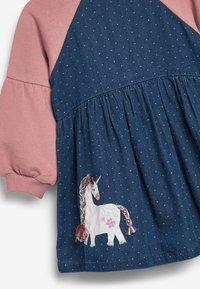 Next - Denim dress - pink - 2