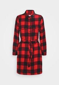 UTILITY DRESS - Shirt dress - red