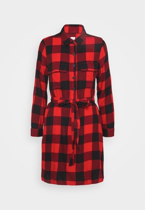 UTILITY DRESS - Skjortekjole - red