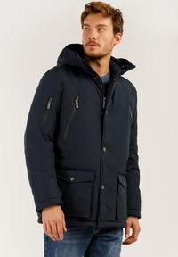 Finn Flare - MIT HOCHWERTIGER WATTIERUNG - Winter jacket - dark blue - 3