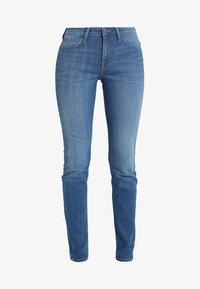 Lee - SCARLETT - Jeansy Skinny Fit - stone blue denim - 4