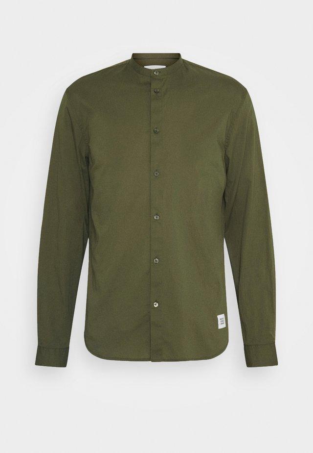 MINI STAND-UP COLLAR - Camicia - fresh olive