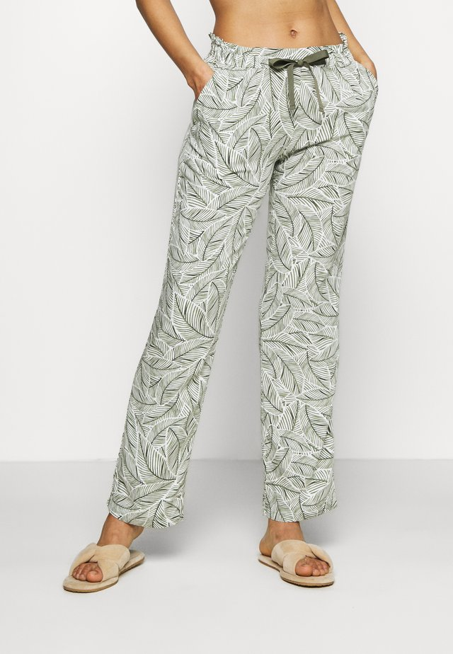 MIX & MATCH TROUSERS  - Pyžamový spodní díl - sage green