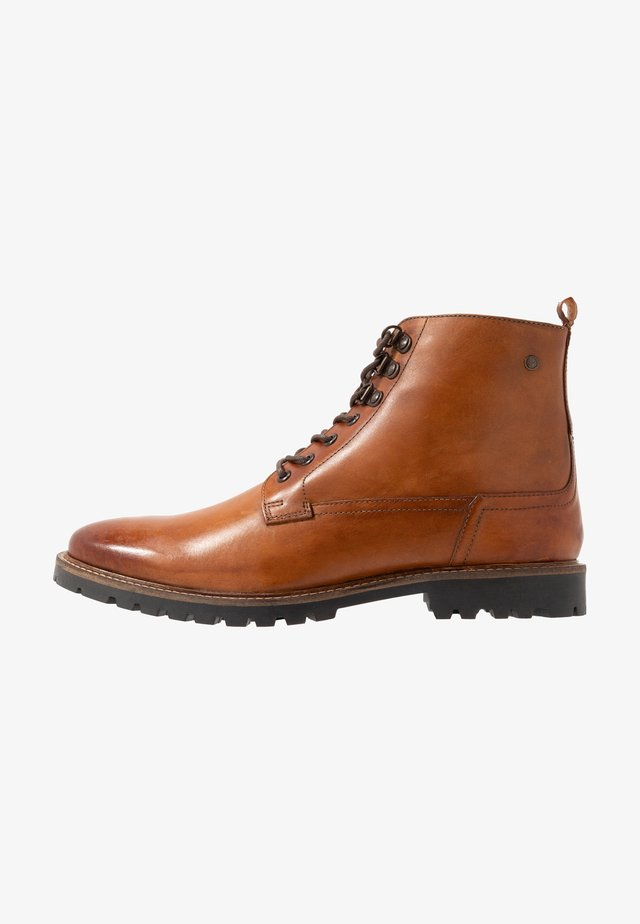 CALLAHAN - Bottines à lacets - tan