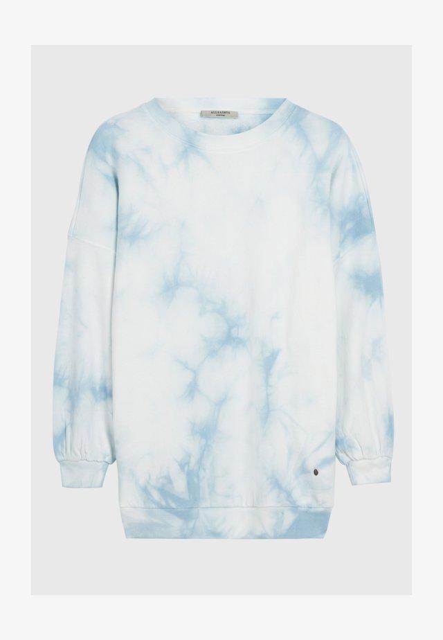 STORN TIE DYE  - Sweatshirts - blue