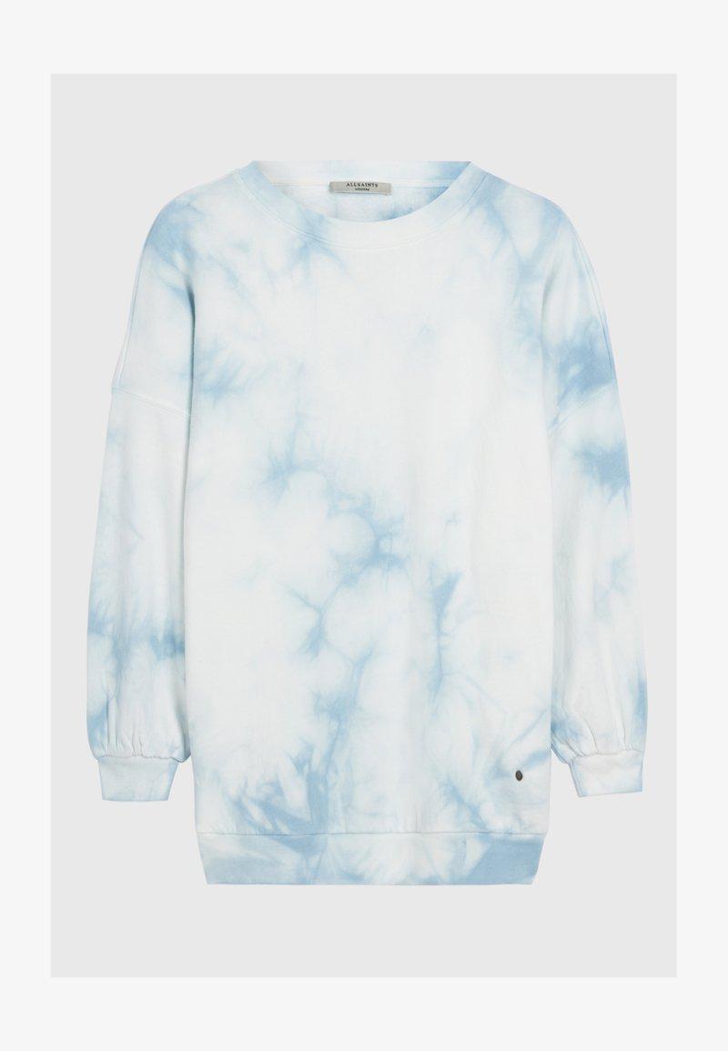AllSaints - STORN TIE DYE  - Sweatshirts - blue